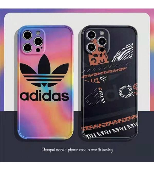 アディダス ブランドiphone 12 /12 pro/12 mini/12 pro maxケース 個性潮流iphone11/11pro/11pro maxケースオシャレ人気