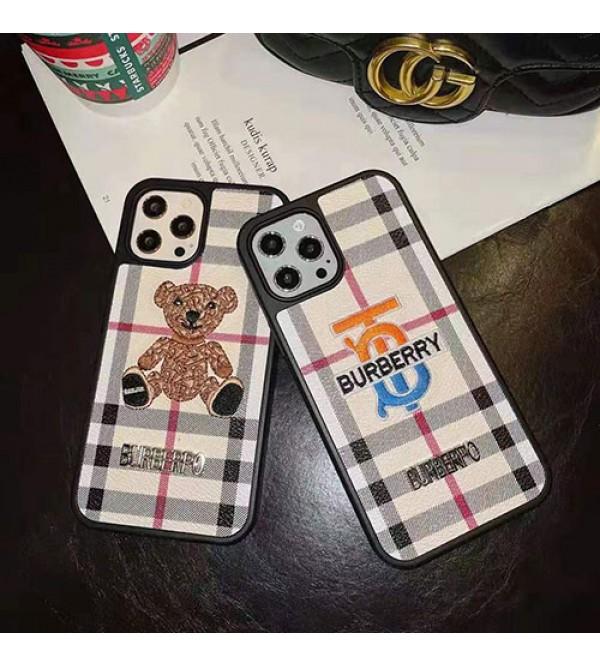 バーバリーブランド iphone12/12pro maxケース かわいい個性潮 iphone x/xr/xs/xs maxケース ファッションメンズ iphone11/11pro maxケース 安いアイフォン12カバー レディース バッグ型 ブランド