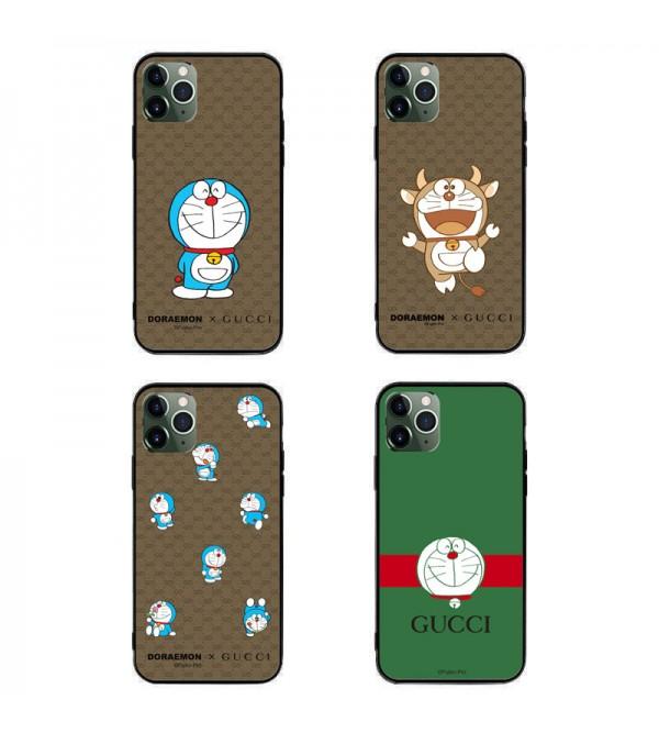 グッチ ブランド ちりん猫模様iphone12/12pro maxケース かわいいファッション セレブ愛用  Galaxy s20/note20/s10/s9 plusケース全機種対応 iphone x/8/7 plusケース大人気