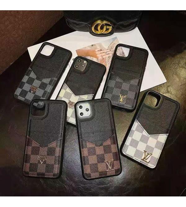 ルイ·ヴィトン ブランドIphone 12/12 mini/12pro max ケース簡約 Iphone Xr/Xs/Xs Maxケース ブランド カード入れ ポケット Iphone 12/11/Se2/8/7/6plusケース 人気 耐久性