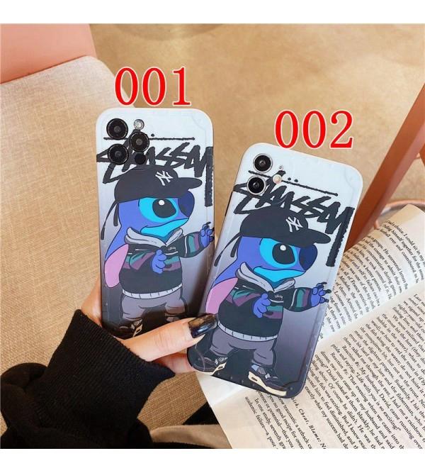 ステューシー ブランド Iphone7/8 Plus/Se2ケース かわいい個性潮 iphone12 / 12pro maxケース ファッションメンズ Iphone11/11pro Maxケース 安い
