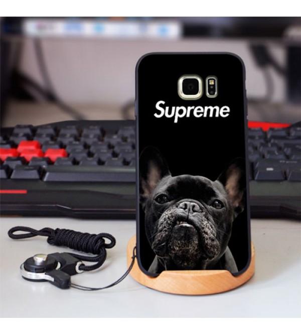 iPhone12 ケースシュプリーム  Supreme Galaxy A30/S10+ケース IPhone Xs Max/Xrケース  Sony ワンちゃん エクスぺリア1カバー お洒落 ファッション 爆人気ジャケット