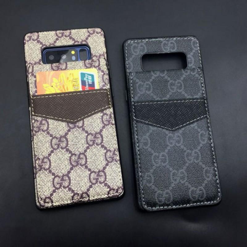 iphone 12ケースブランドグッチ galaxy s20/S10+/S10/note10 plusケース iphone 11/11pro/xr/xs max/se2ケース gucci Galaxy Note8カバー レザー製 ビジネス風 4カードスロット付き