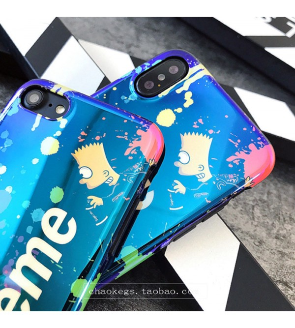 ブランド supreme iPhoneXケース シュプリーム Iphone8/7 Iphone8plus/7plusスマホケース Iphone6/6s Plus Iphone6/6sジャケットケース お洒落 ブルーレイ