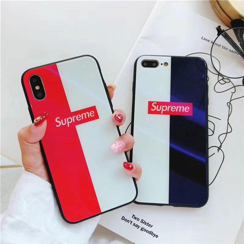 ブランド Supreme galaxy s20/S10+/S10ケース iphone12ケース シュプリーム Iphonexs/xs max/xケース アイフォン8/7/6s Plusカバー ジャケット ブルーライント