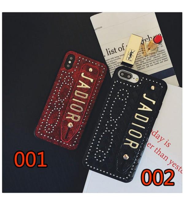 iphone 12 ケースブランドdior iPhone 11/11pro/xケース ディオール iphone se2/8/7plusスマホケース Iphone6/6s Plus Iphone6/6sカバー ジャケット ハンドベルト付き 豪華