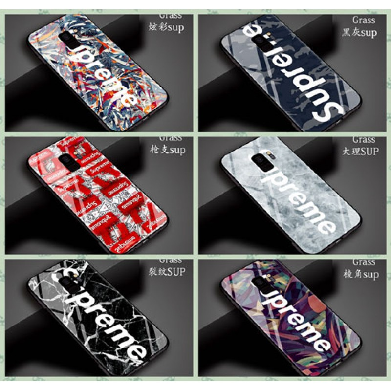 iphone 12 ケースブランドsupreme galaxy s9+カバー シュプリーム ギャラクシーs9/s8+/s8スマホケース ファクション 個性 カッコイイ