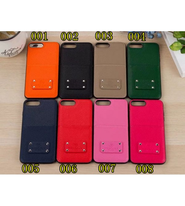 iphone 12 ケースブランドhermes Iphone xr/xs/xs maxカバー エルメス Iphonex/se2/8/7 /6 plusスマホケース Galaxy S9+/NOTE8ジャケット ケース カード入れ 凹み紋