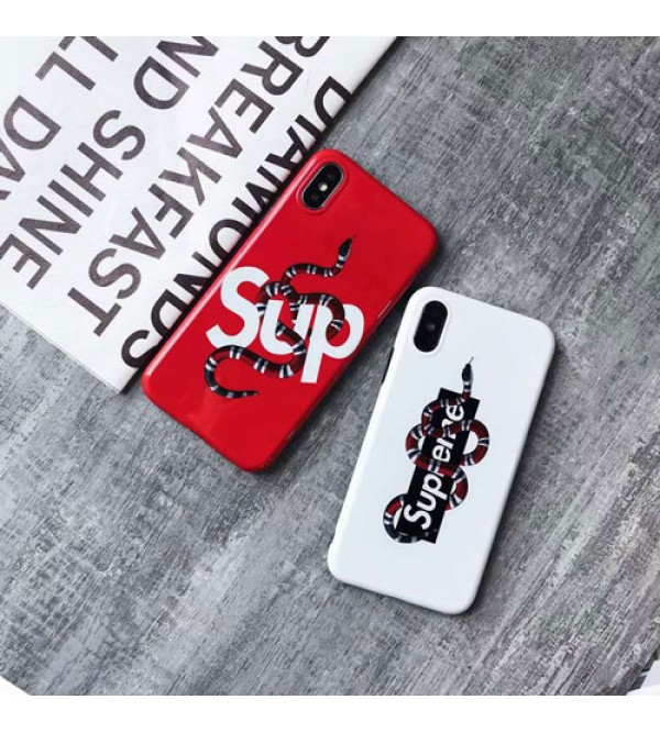 iphone 12 ケースブランドsupreme iPhoneXケース シュプリーム Iphone se2/8/7 Iphone8plus/7plusスマホケース Iphone6/6s Plus Iphone6/6sカバー ジャケット 蛇絵柄