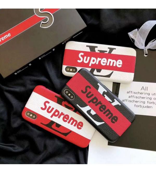 シュプリーム IphoneXケース Supreme Iphone8/7 Iphone8plus/7plusカバー ブランドルイヴィトン Iphone6/6s Plus Iphone6/6sケース