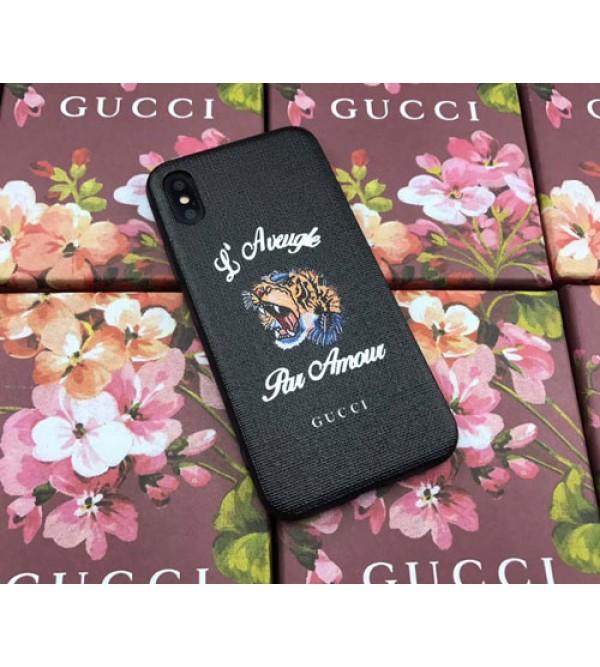 ブランド gucci iPhone xs/xs plusケース グッチ Iphone9/8/7 plusスマホケース Iphone6/6s Plus Iphone6/6sカバー ジャケット 虎絵柄