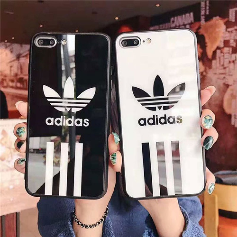 iphone 12 ケースブランドアディダス iPhone xr/xs max/xsケース galaxy S10/S10+ケース ADIDAS iphone x/se2/8/7plusスマホケース Iphone6/6s Plusカバー ジャケット 簡約風