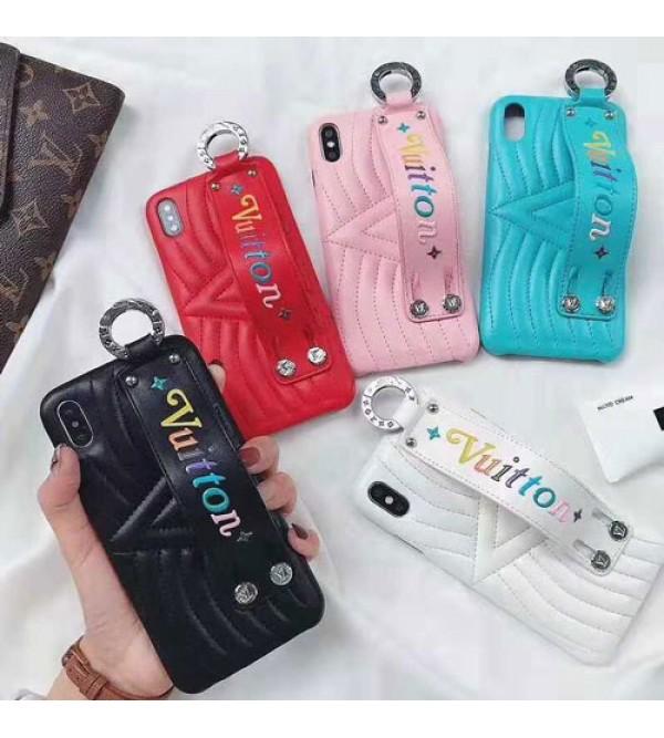 lv iPhone xr/xs max/xsケース ルイヴィトン iphone x/8/7/se2スマホケース ブランド Iphone6/6s Plus Iphone6/6sカバー ジャケット ハンドベルト付き