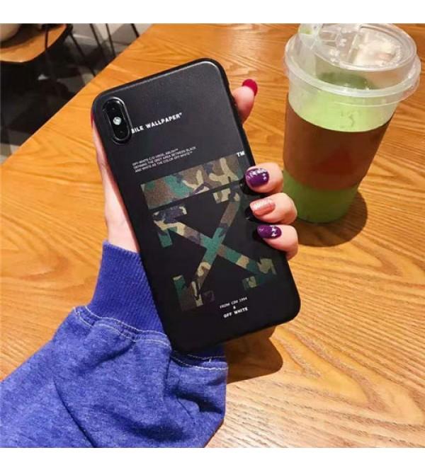 off white iPhone xr/xs max/xsケース オフホワイト iphone x/8/7スマホケース ブランド Iphone6/6s Plus Iphone6/6sカバー ジャケット 創意