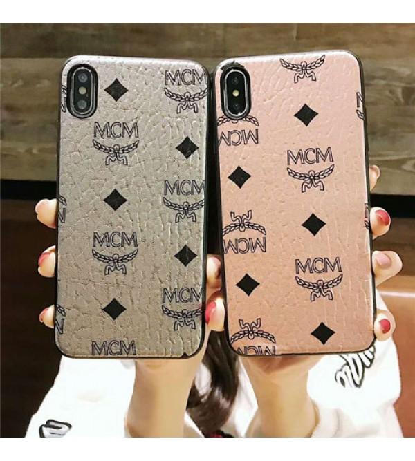 iphone12ケースブランドMCM iPhone xr/xs max/xsケース エムシーエム iphone x/8/7/se2スマホケース ジャケット Iphone6/6sカバー 経典絵柄