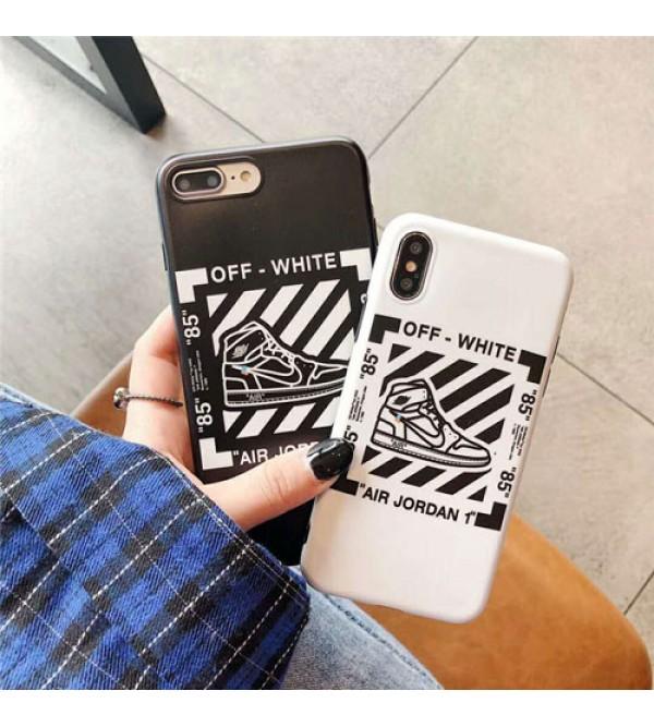 iPhone 12 ケースブランドoff white iPhone xr/xs max/xsケース jordan iphone x/8/7/se2スマホケース ジャケット nike Iphone6/6sカバー スニーカー絵柄