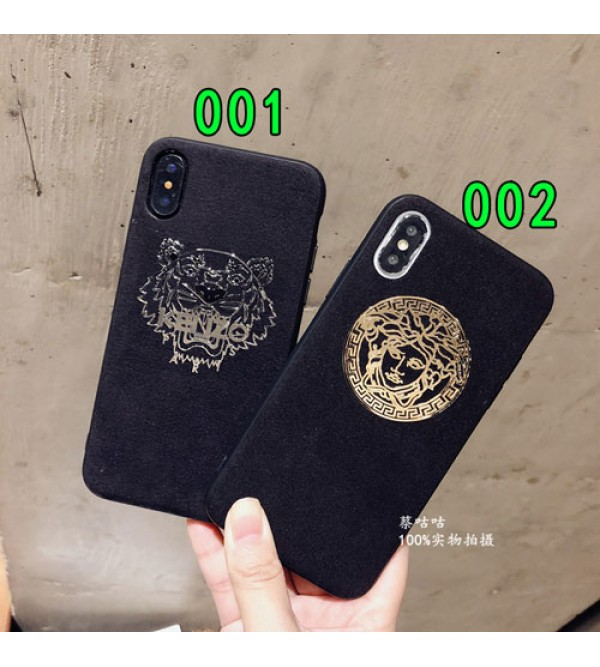 ブランドversace iPhone xr/xs max/xsケース ヴェルサーチ iphone x/8/7スマホケース ジャケット ケンぞIphone6/6sカバー キラキラ