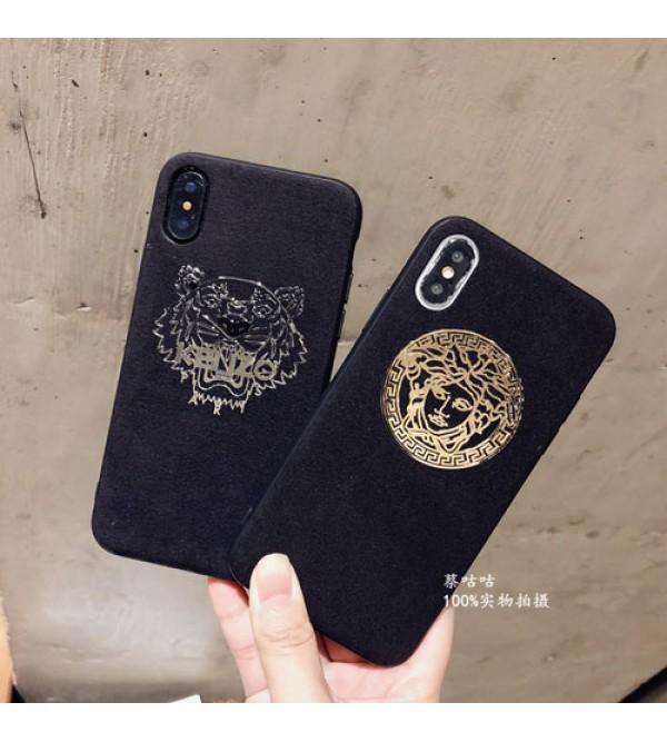 iphone12ケースブランドversace iPhone xr/xs max/xsケース ヴェルサーチ iphone x/8/7/se2スマホケース ジャケット ケンぞIphone6/6sカバー キラキラ