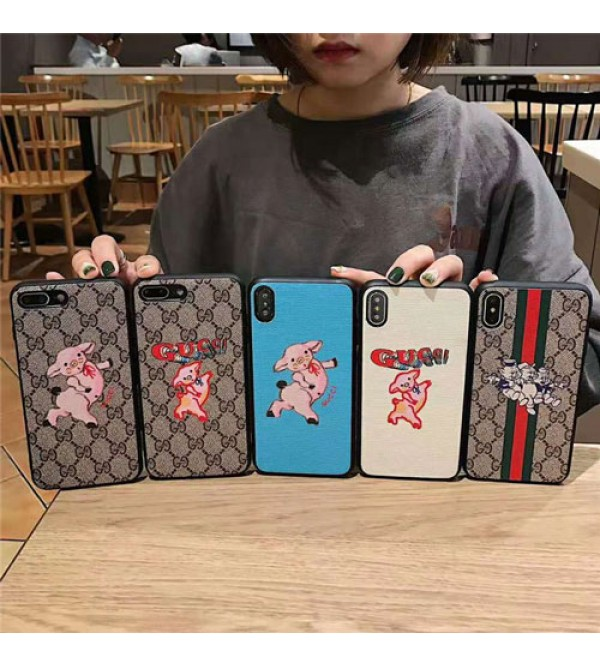 iphone 12 ケースgucci iPhone xr/xs max/xsケース グッチ iphone x/8/7/se2スマホケース ブランド Iphone6/6s Plus Iphone6/6sカバー ジャケット 可愛い豚 アニメ