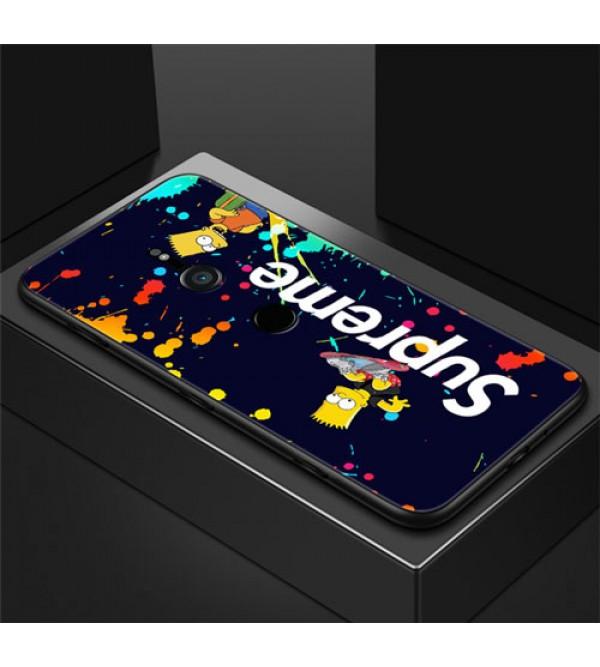 シュプリーム Xperia 1ケース 潮流 Supreme Sony エクスぺリア1カバー Xperia ace ケース Xperia XZ2ケース Xperia XZ3ケース お洒落 ファッション 爆人気ジャケット