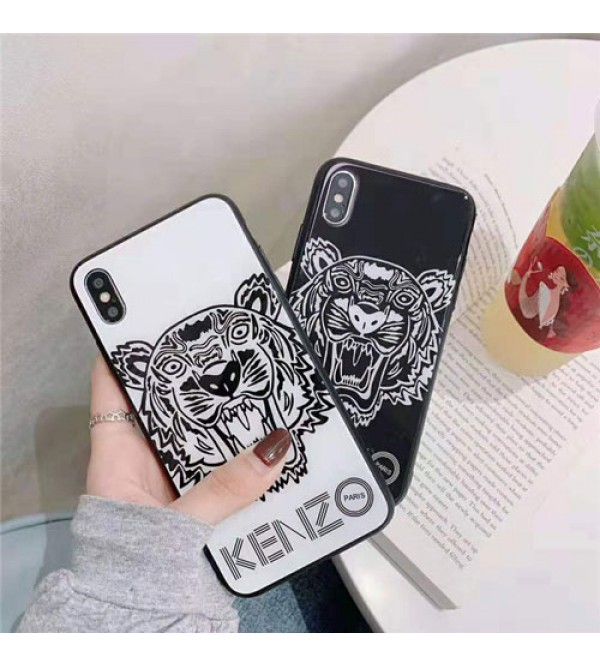 iphone 12 ケースkenzo iPhone xr/xs max/xsケース ケンぞ iphone x/8/7/se2スマホケース ブランド Iphone6/6s Plusカバー ジャケット 虎絵柄