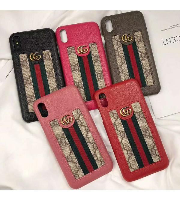 iphone 12 ケースgucci iPhone xr/xs max/xsケース グッチ iphone x/8/7/se2スマホケース ブランド Iphone6/6s Plusカバー ジャケット 豪華 革
