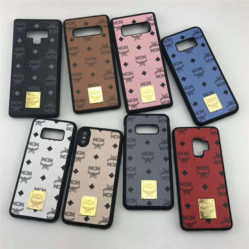 ブランドMCM Galaxy S10ケース エムシーエム Galaxy S9スマホケース ギャラクシーNOTE9 ジャケット 8色