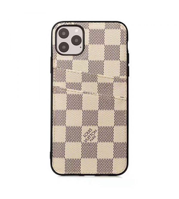 iphone 12/12 mini/12 pro/12 pro maxルイヴィトン バーバリー iphone 11 pro/xr/xs maxケースブランドlv burberry アイフォン x/8/7plusケース Galaxy s20/s10e/s10/s9 plusケースカードポケット付き ファッションビジネス風