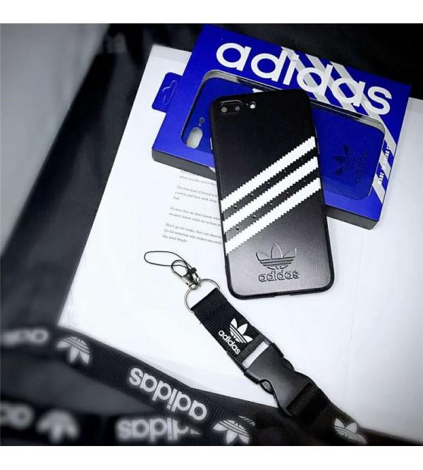 Adidas アディダス galaxy s9/s10 plusケース iphone xr/xs  maxケース ブランド ギャラクシーs8/note9ケースアイフォン x/se2/8/7 plusケースお洒落スポーツ風