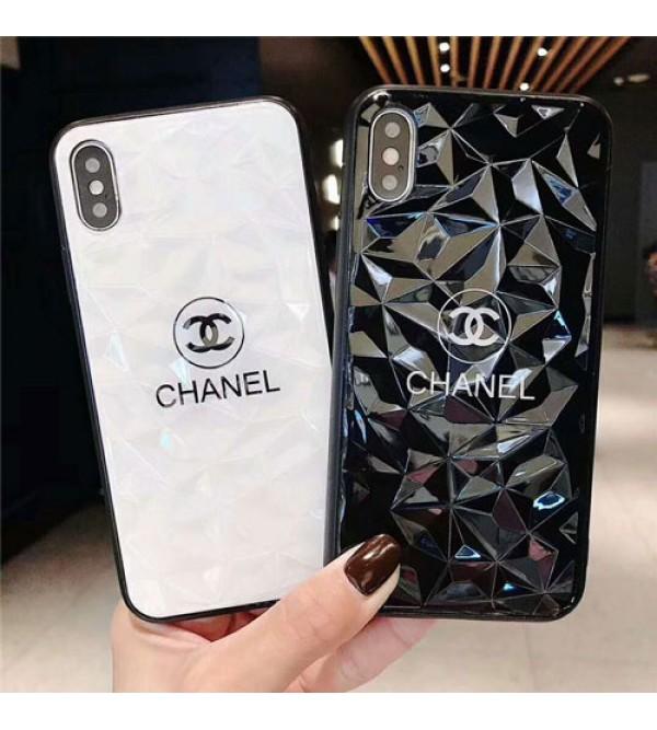 シャネル シュプリーム iphone xr/xs maxケースブランド chanel supreme iphone x/xsケース お洒落 iphone 6/7/se2/8 plusケースファッション キラキラ