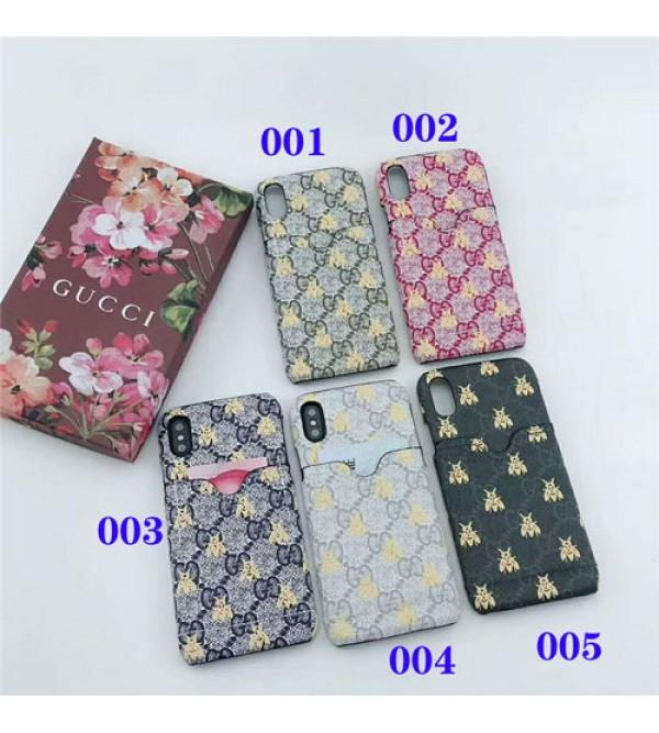 グッチ gucci galaxy S10+ケース iphone xrケース galaxyA30/S10カバー 人気 ブランド Galaxy   S9/S8plusケース iphone xs max/x/10/se2/8plusケース おしゃれ カード入れ 耐衝撃