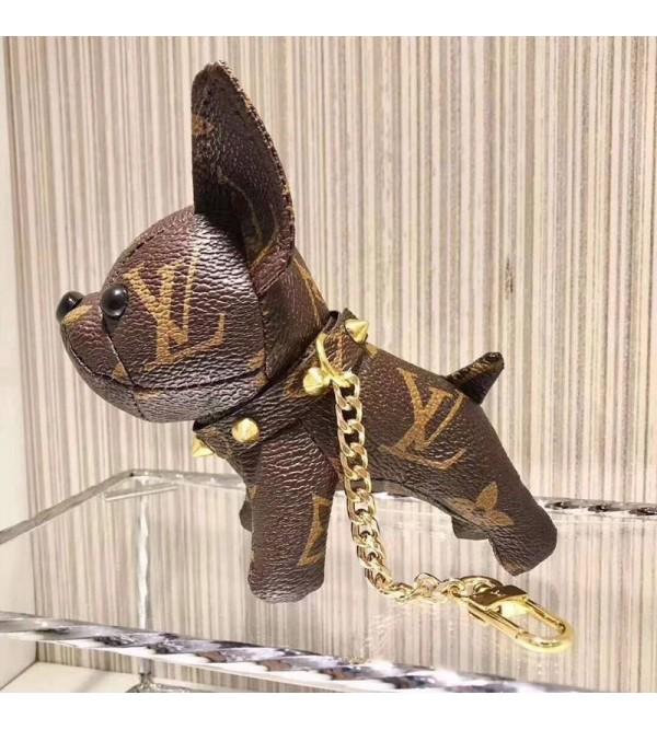 ルイヴィトン キーホルダー 犬 可愛い メンズ キーホルダー おしゃれ キーチェーン キー リング モノグラム 人気ブランド