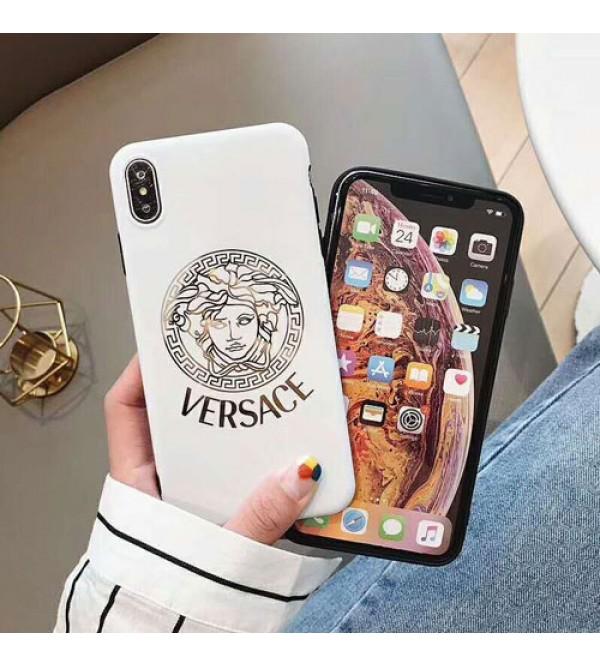 イブサンローラン iphone11/11pro max/ xrケース 人気 ブランド iphone xs maxカバー フェンデイ ヴェルサーチ オ  シャレ iphone xs/x/10/8/7/se2/6plusケース ファッション 人気 耐衝撃 光沢感 芸能人愛用