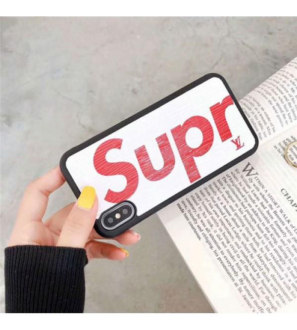 ルイヴィトン iphone 12ケースシュプリーム コラボ iphone xrケース galaxy S10plusケース ブランド galaxy S10ケース iphone xs max/x/10/se2/8plusケース シンプル ギャラクシーs6/s7/S9/S8plusケース 人気 おしゃれ 芸能人愛用