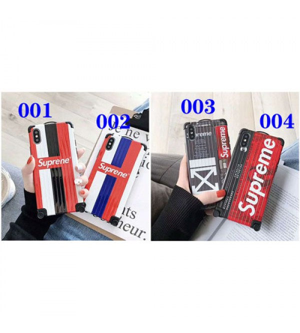 シュプリーム supreme iphone xrケース iphonexs/xs maxカバー 人気潮流 箱デザイン iPhone x/se2/7/8plusケース 耐衝撃 ファッション 3D手触り 男女兼用