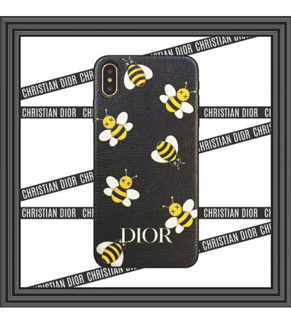iphone 12 ケースディオール iphone xrケース ブランド iphone xs/xs maxカバー オシャレ ミツバチ DIOR   iphone x/10/8/7/se2 /6plusケース ファッション 人気 デザイン性 芸能人愛用