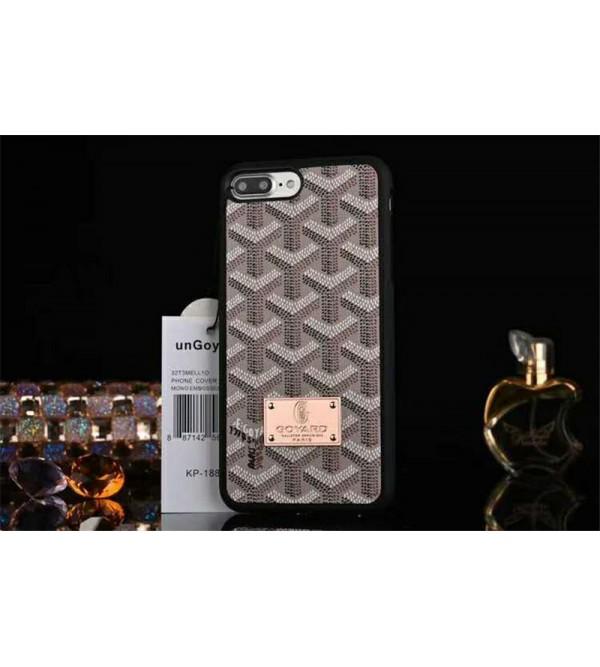 Goyard ゴヤール iphone xrケース galaxy S10plusケース ブランド galaxy S10ケース iphone xs max/x/10/8plusケース ギャラクシーS9/S8plusケース 人気 全面カバー 芸能人愛用