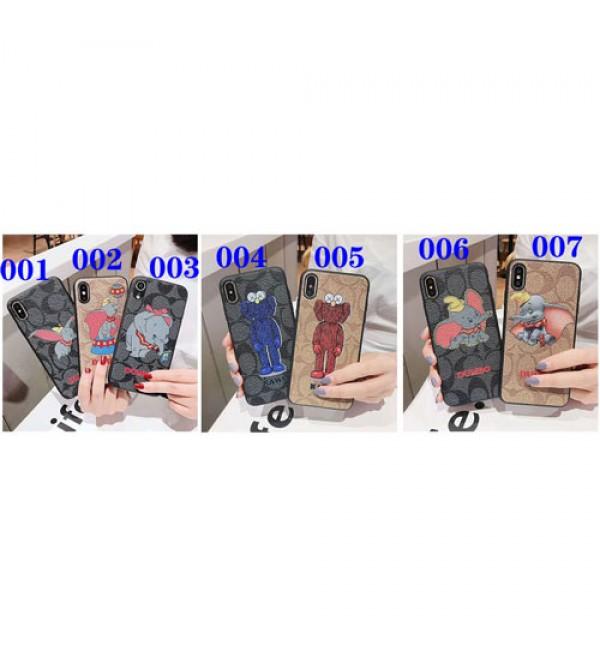 iphone 12ケースコーチ coach Galaxy S10+ケース Iphone xrケース ダンボ ブランド GalaxyS10plusケース  Iphone X/Xs Max/se2ケース ジャケット 人気 Galaxy S9/S8plusケース メンズ レディズ 芸能人愛用
