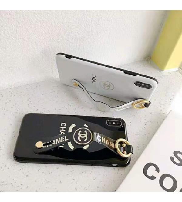 ルイヴィトン iphone xr/11pro maxケース iphone xs/xs maxケース 人気ブランド ホルダー付き iphone x/10/8/7/6plusケース 花柄綺麗 ホワイト ブラック 耐久性 芸能人愛用