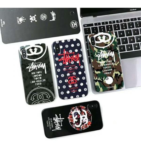 iphone 12 ケースstussy ステューシー iphone xrケース iphone xs/xs maxケース 人気 潮流 ブランド iphone x/10/8/7/se2/6plusケース カッコイイ 純正 激安通販 芸能人愛用
