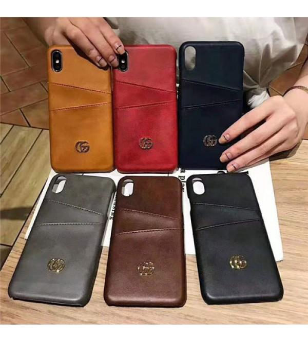 グッチ iphone xr/xs maxケースブランドgucci iphone x/11/XI/se2ケースビジネス風 アイフォン 8/7 plusケースファッションお洒落男女兼用