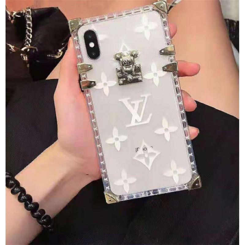 lv ルイヴィドンiPhone12 ケースアイフォン se2/11/11pro/xr/xs maxケース ブランド 透明 iphone 10s/11/XIケース お洒落モノグラム アイフォンx/8/7 plusケーストランク高級ファッション