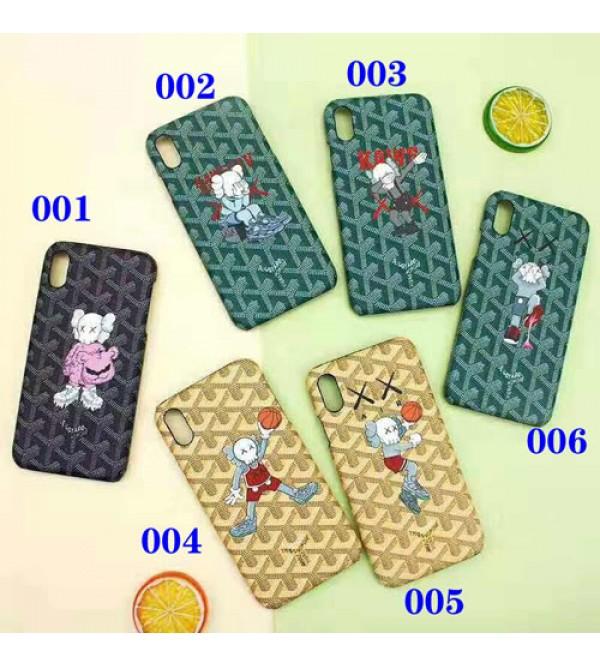 goyard ゴヤール iphone xr/xs maxケースブランド iphone 11/XI/11R/se2ケース KAWS 個性iphone x/10s/8/7 plusケース 大人気 お洒落可愛い