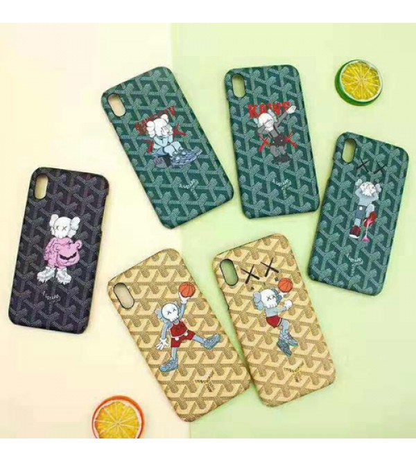 iphone12goyard ゴヤール iphone xr/xs maxケースブランド iphone 11/XI/11R/se2ケース KAWS 個性iphone x/10s/8/7 plusケース 大人気 お洒落可愛い