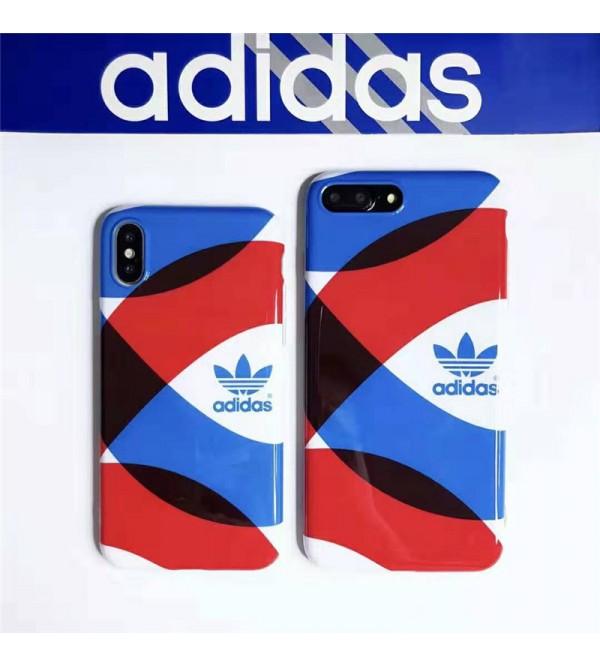 adidas iphone xr/xs  maxケースブランドアディダス iphone 11/XI Max/se2ケース スポーツ風 お洒落 アイフォン x/8/7 plusケース フファッション激安 人気