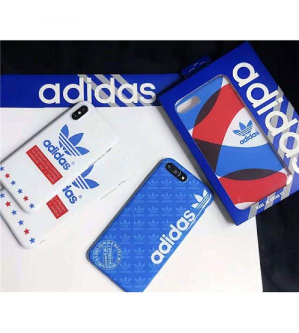 adidas iphone xr/xs  maxケースブランドアディダス iphone 11/XI Maxケース スポーツ風 お洒落 アイフォン x/8/7 plusケース フファッション激安 人気