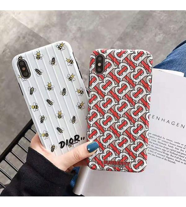 バーバリー iphone XI/11R/11 Max/se2ケースディオール ブランド iphone xr/xs maxケース オシャレプリント アイフォン x/8/7 plusケース 流行新品
