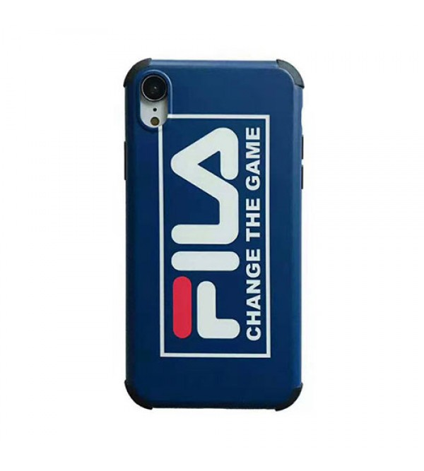 iphone12ケースフィラ iphone XI/11pro Max/11pro/se2ケースFILA iphone xr/xs maxケース ペア個性潮流 iphone x/8/7 plusケース ファッション流行 オシャレ