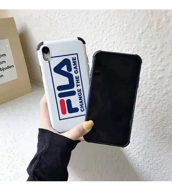 フィラ iphone XI/11pro Max/11pro/se2ケースFILA iphone xr/xs maxケース ペア個性潮流 iphone x/8/7 plusケース ファッション流行 オシャレ