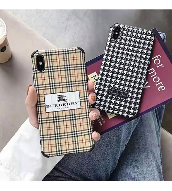 ディオール バーバリー iphone XI/11 Max/11r/se2ケースブランド iphone xr/xs maxケース オシャレ アイフォン x/8/7 plusケース 大人気 ファッション 耐衝撃